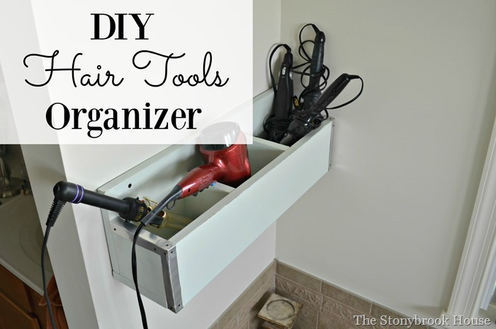 DIY Hair Tools Organizer