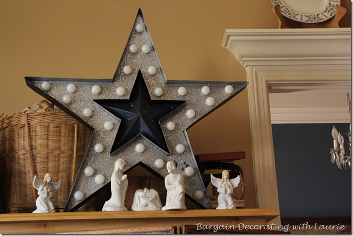 Chistmas Nativity Set and Star