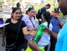 Extra water bottles to hand out