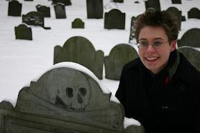 Lana at the Granary Burying Ground