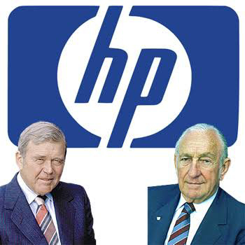 Hewlett-Packard's (also known as HP) name was decided in a coin toss in 1939.