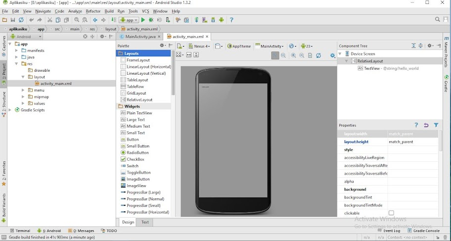 android studio grafitalk
