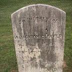 A. Jackson Gleaves Son of William & Elizabeth Gleaves The Gleaves Family Cemetery Cripple Creek, Wythe County, Virginia