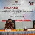 KPU Soppeng Tetapkan AKAR-LHD sebagai Paslon di Pilkada Soppeng