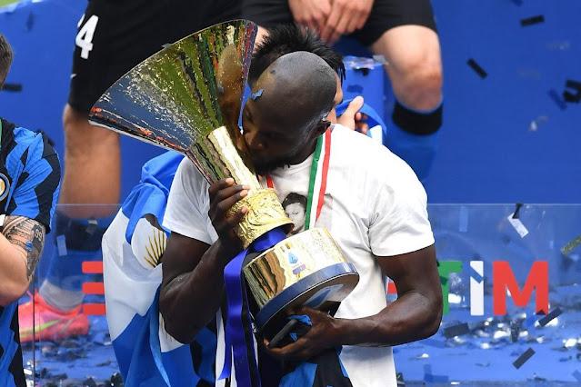 Inter Milan striker Romelu Lukaku photo