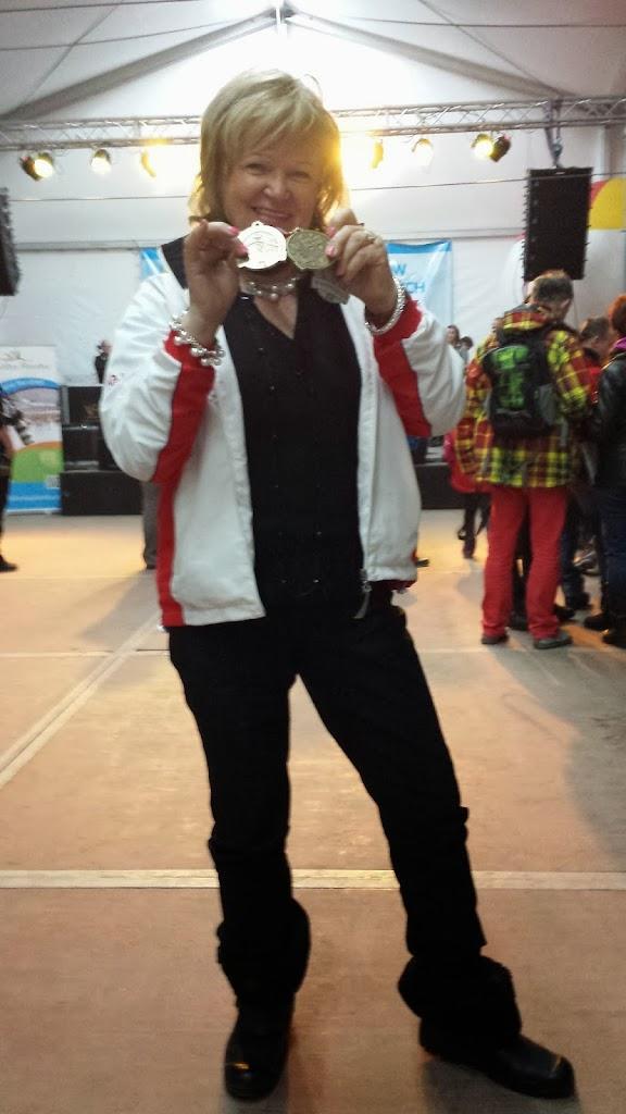 Multi medalistka z USA Krystyna Kacperczyk