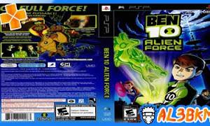 تحميل لعبة Ben 10: Alien Force psp iso مضغوطة لمحاكي ppsspp