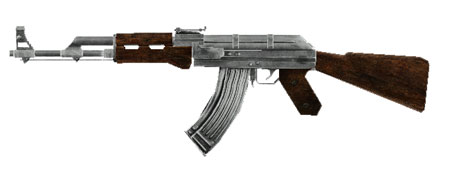 Call of Duty Modern Warfare AK47 Papercraft