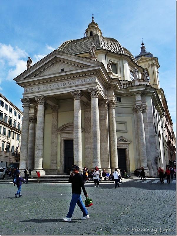Santa Maria di Montesanto, Rome