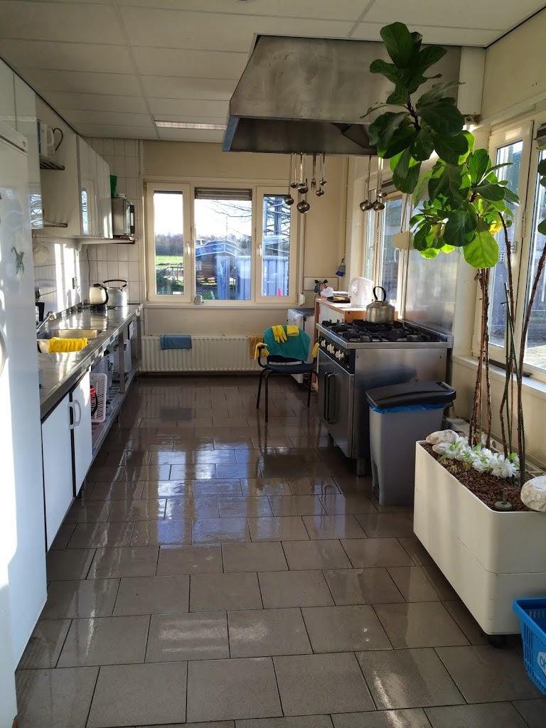 En de keuken