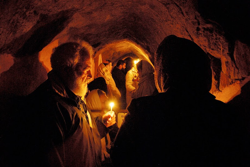 7. Service at Zverinets Caves near Archangel Mikhail Monastery