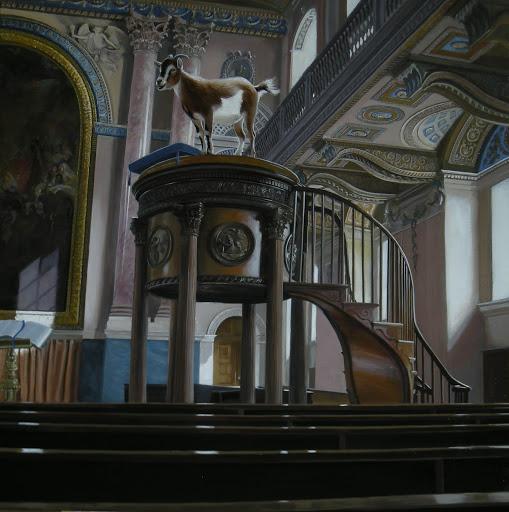 Chapel. Artist Leslie Watts