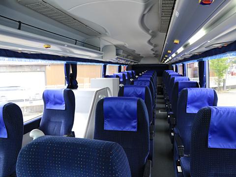 西武バス 新潟線 1209 車内