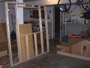 Photo: Yet, another picture of a framed wall. At this point, I believe we were finished with all of the walls.