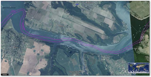 Старе русло річки Дністер: села Гораївка та Стара Ушиця