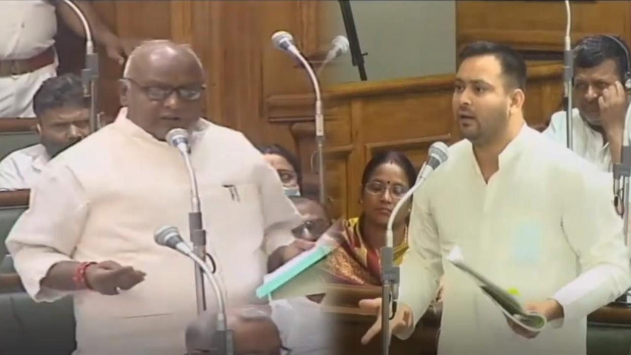 बिहार विधानसभा में तेजस्वी यादव बोले- आप लोगों को कैसे मंत्री बना दिया? भड़का सत्ता पक्ष