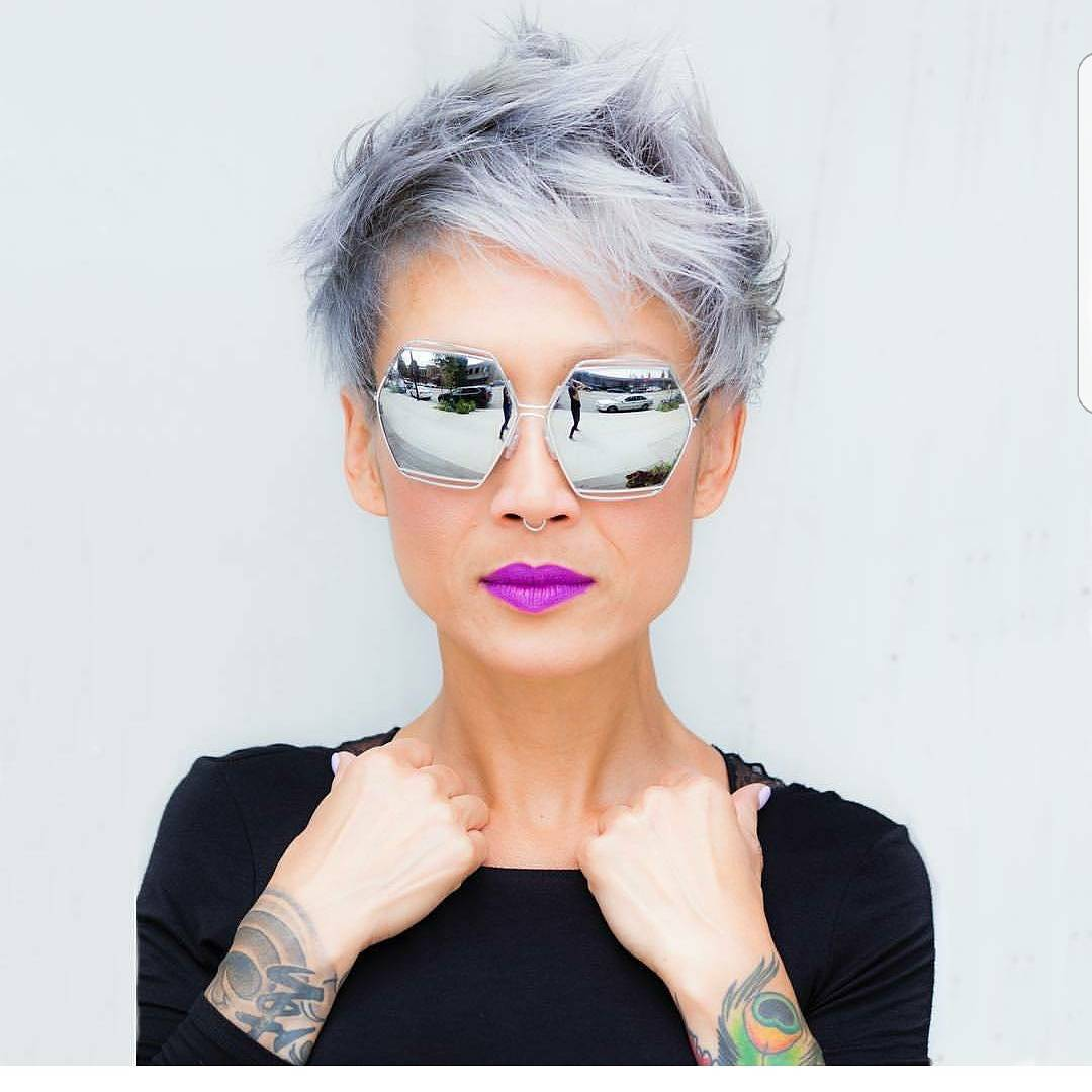 2018 Long Pixie Hairstyles For Women's 2