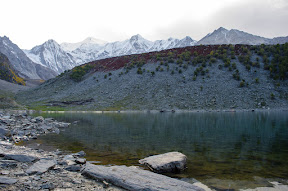 A last look at Rama lake before leaving, Astore
