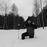 samotna zimowa wędrówka przez Puszczę Bydgoską (od Gniewkowa do Nowej Wsi Wielkiej)