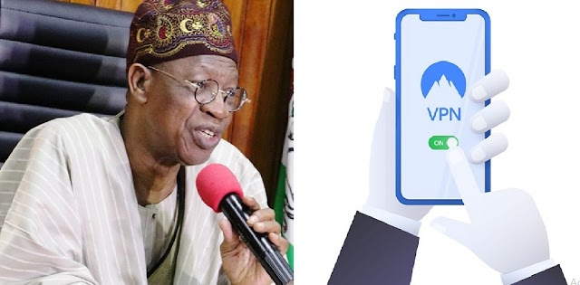 Using VPN To Access Twitter Exposes Your Data Including Bank Account – Lai Mohammed (VIDEO)