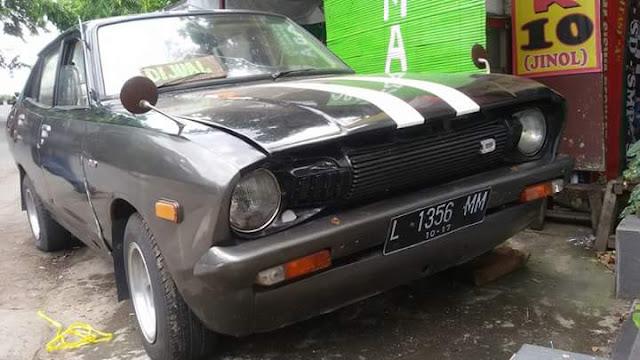Lapak Mobkas RETRO : Jual Datsun 120Y Tahun 76 Khas Retro ...