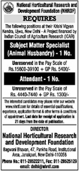 NHRDF Advertisement 2017 www.indgovtjobs.in