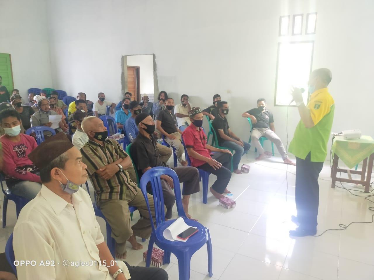 Satgas TMMD Ke 110 Kodim 1008/Tanjung Berikan Penyuluhan Kepada Petani Karet