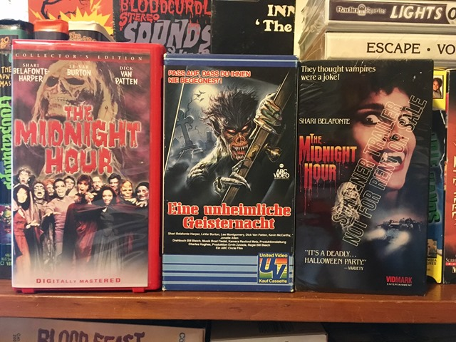 VHS The Midnight Hour VHS releases
