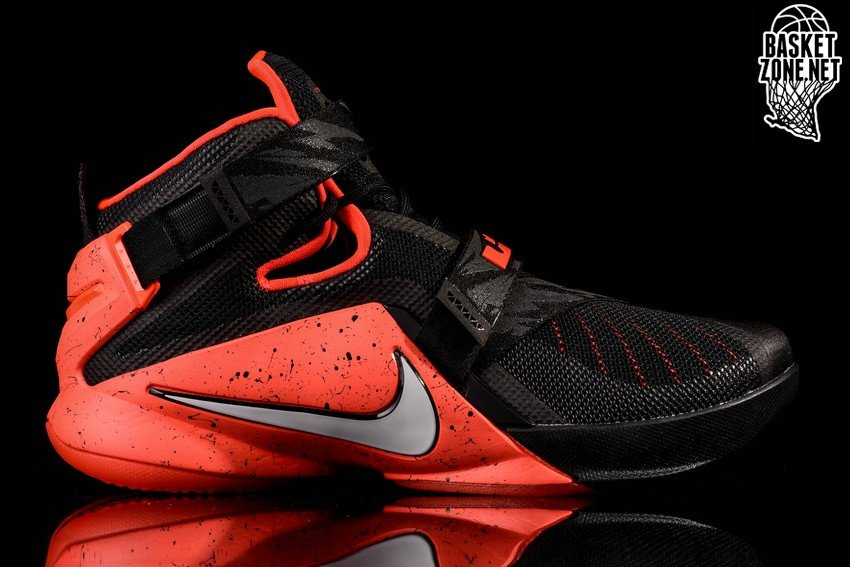 timeless design 77299 ae8db czech nike goes premium for black and red lebron soldier 9 9cf79 b479f .