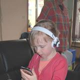 Even de Ipod van mijn neefje uitchecken!