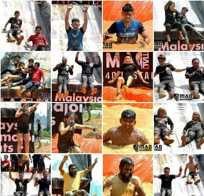 obstacles at mad warrior cyberjaya 2017