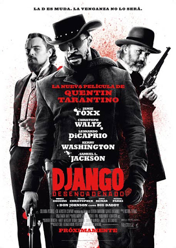 Django Desencadenado Quentin Tarantino Jamie Foxx Samuel L Jackson Kerry Washington esclavitud