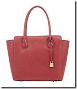 Michael Michael Kors Cherry Leather Mercer Satchel - other colours