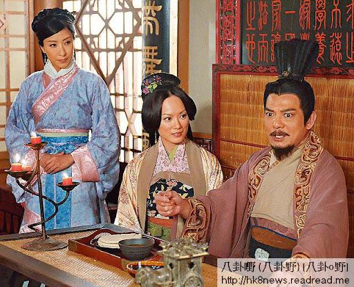 《回到三國》做劉備夫人,今次年齡只差 23年,算好少了。