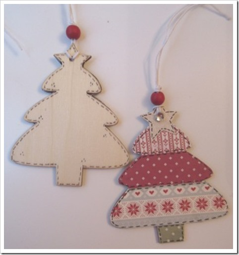 Nordic Christmas Tree Tag