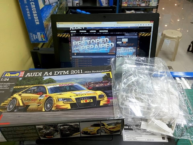 1/24 Revell Audi A4 DTM 2011 - Done | Modelers Social Club Forum
