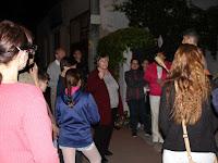23 Keresztény és zsidó vállasi emlékeket kerestek fel Ipolyságon.JPG