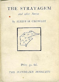 Cover of Aleister Crowley's Book The Stratagem and Other Stories