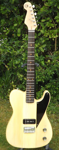 Butsermountainmusic telebird 1 pickup electric guitar bmm