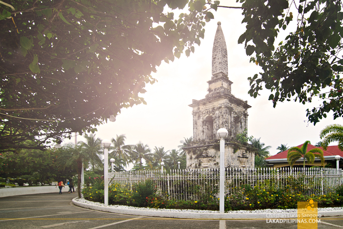 Magellan's Obelisk at Mactan's Lapu-Lapu Shrine