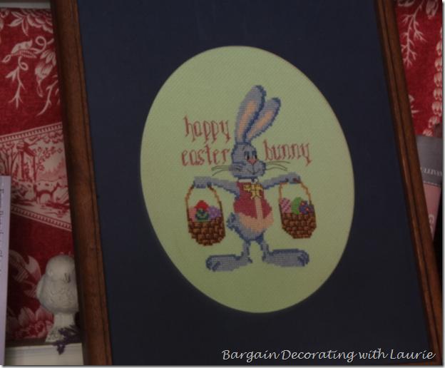 Easter Needlepoint Bunny