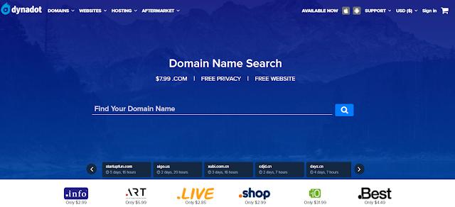 domain gratis dynadot.com