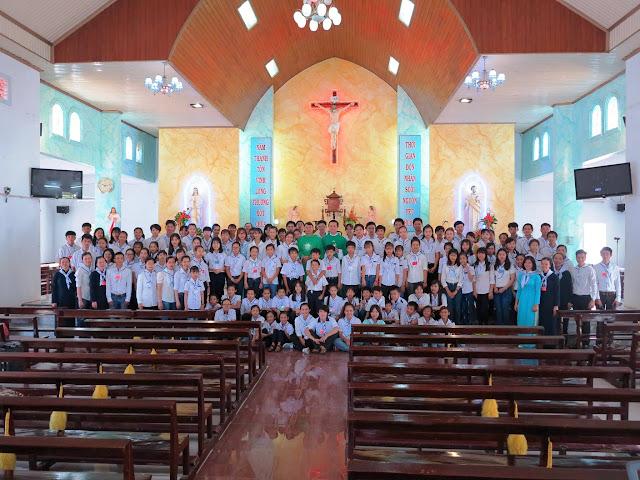 Trại hè vui chơi và huấn luyện cho các em Giới trẻ Con Đức Mẹ Miền Duyên Hải tại Giáo xứ Thủy Lợi
