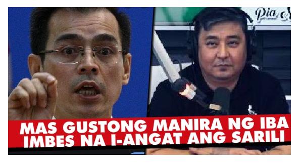 """""""Mukhang Tuta... Halata ka na!"""" Isko, Sinopla ng Radio Host!"""