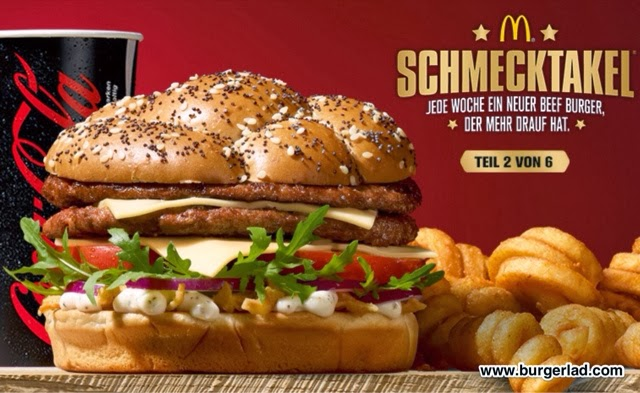 McDonald's Germany Caesar's Beef Burger