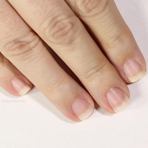how to make nails white naturally