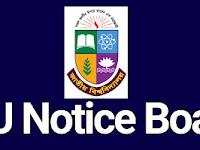 NU Notice: ২০১৮ সালের অনার্স তৃতীয় বর্ষ পরীক্ষার কেন্দ্র তালিকা সংক্রান্ত সংশোধিত বিজ্ঞপ্তি।