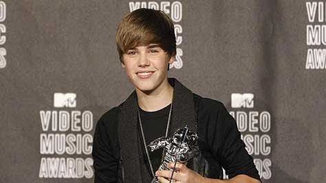 Justin Bieber ganador en los MTV Video Music Awards