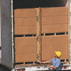 Marvatex Dunnage Air Bags prevent shifting of your product as it is transported by truck or rail car to it's destination
