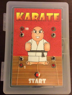 Karate Handheld Game Complete